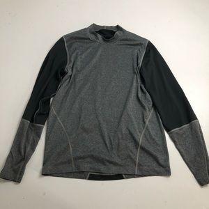 Nike Gray Long Sleeve Shirt Men's Large